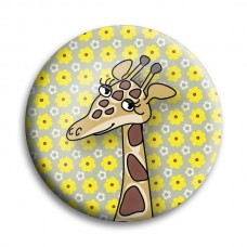 Button: giraffe