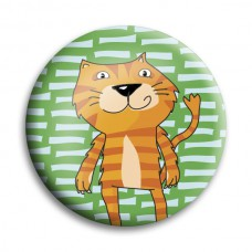 Button: tijger