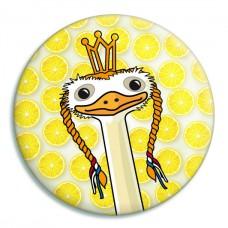 Spiegeltje: struisvogel