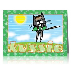 Dubbele kaart: Kussie