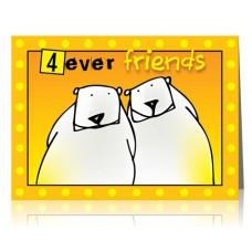 Dubbele kaart: Altijd vrienden