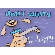 Postkaart: Don't worry