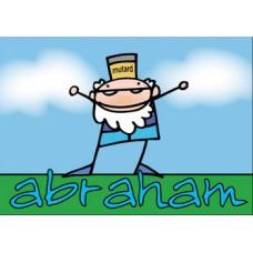 Postkaart: Abraham
