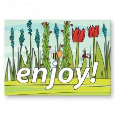 Postkaart: enjoy