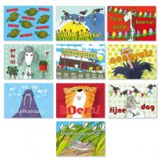Voordeelset: 10 verjaardags-postkaarten 4